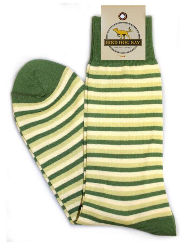 Triple Stripe - Green/Green