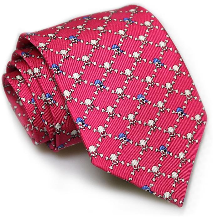 Jolly Roger: Tie - Fuchsia