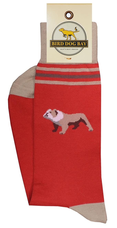 Bulldogs: Socks - Red