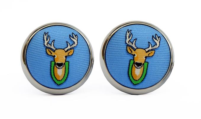 Deer Season: Cufflinks - Blue