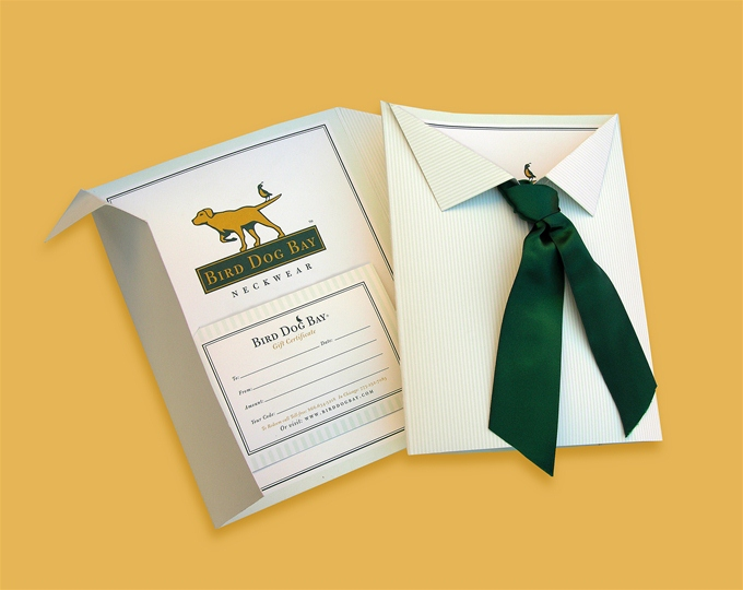 Gift Certificate (Shirt and Necktie Gift Set)