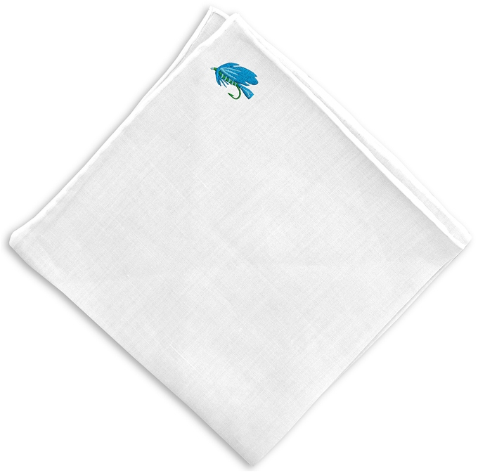 Fly Time: White Linen Pocket