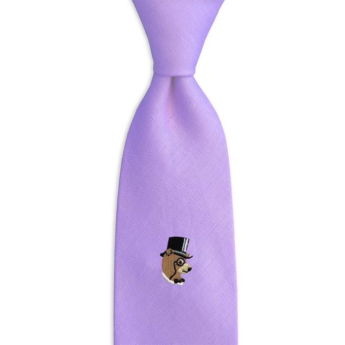 High Roller Bear: Linen - Violet