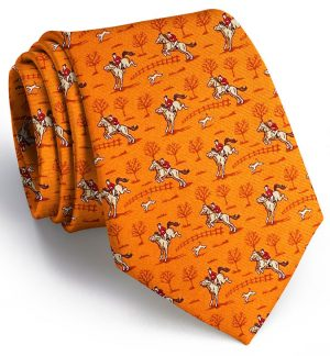 Field Hunter: Tie - Orange 1