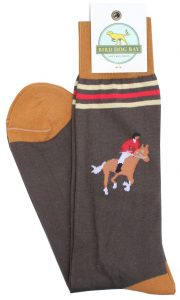 Fox Hunter: Socks - Brown