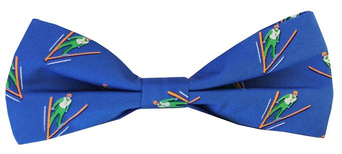 Ski Jump - Boy's Bow - Blue