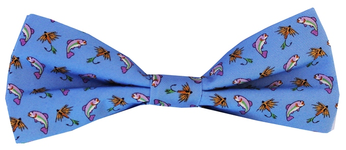 Gone Fishin': Boy's Bow - Blue