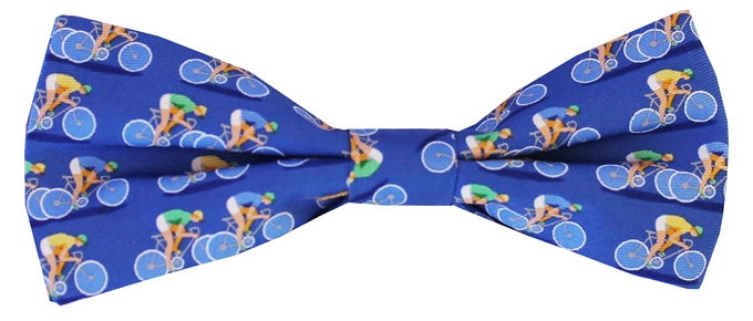Bicycle Race: Boy's Bow - Blue