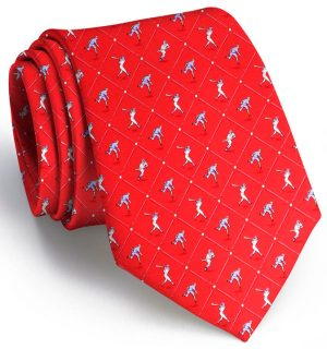 National Past-Tie: Tie - Red