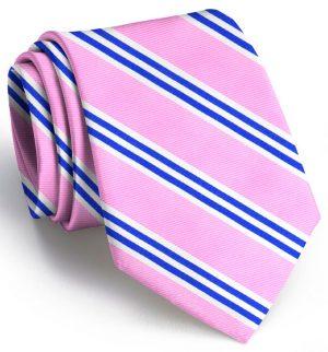 On Air Stripe: Tie - Pink