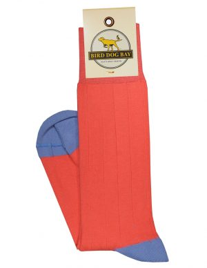 Pedigree Mid-Calf Solid - Coral