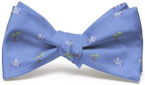 Jolly Roger English Woven Pedigree: Bow - Blue