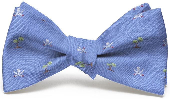 Jolly Roger English Woven Pedigree: Bow - Blue