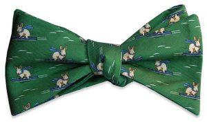 Back Bowl Bunnies: Bow - Green