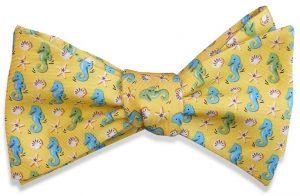 Seahorse: Bow - Yellow