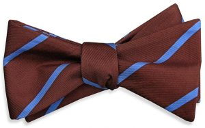 Single Stripe: Bow - Brown