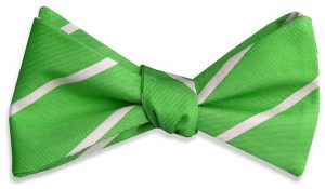 Single Stripe: Bow - Lime