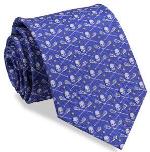 Lacrosse Bones: Tie - Blue