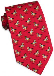 Leapin' Lipizzans: Tie - Red
