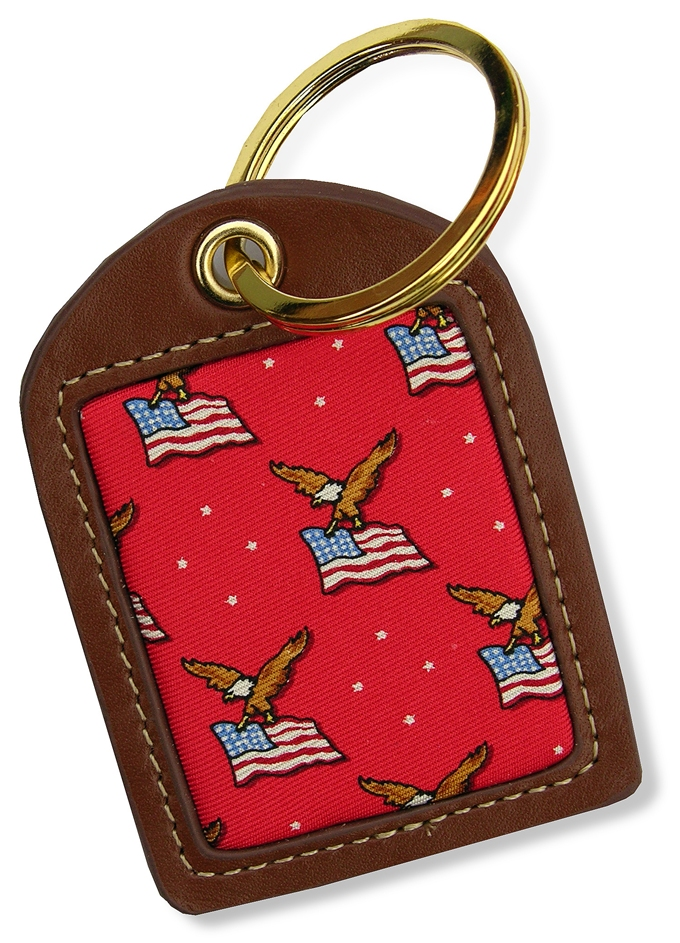 America: Key Chain - Red