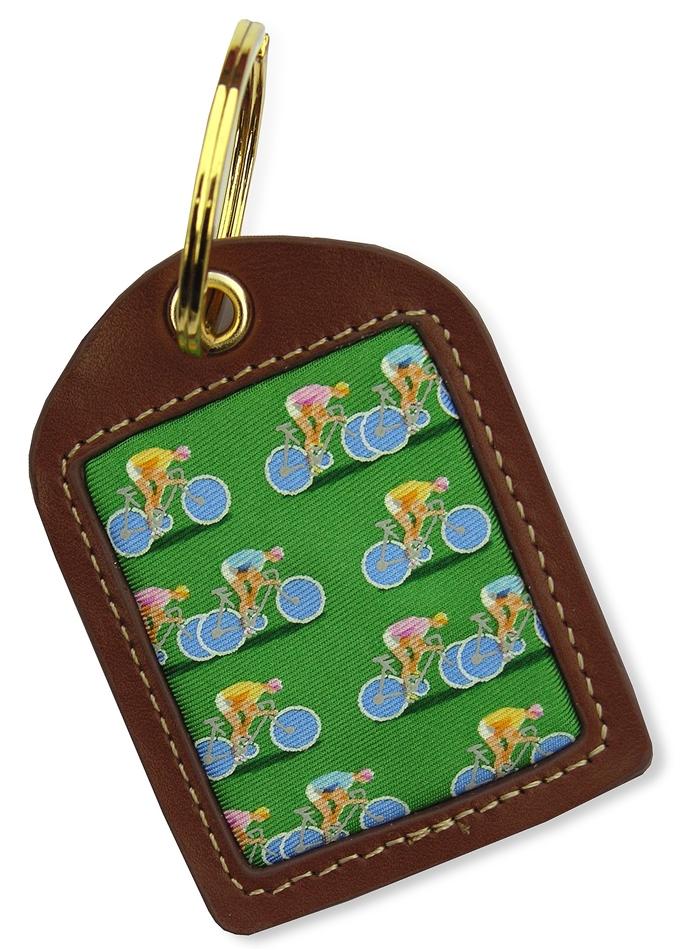 Bicycle Race: Key Chain - Green