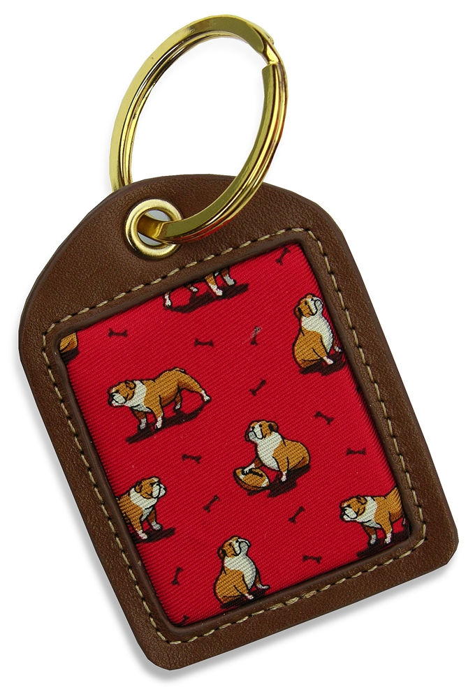 Bulldog Bonanza: Key Chain - Red