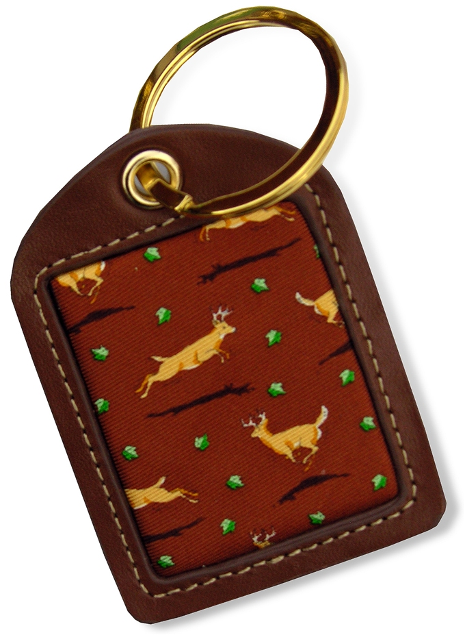Big Bucks: Key Chain - Brown