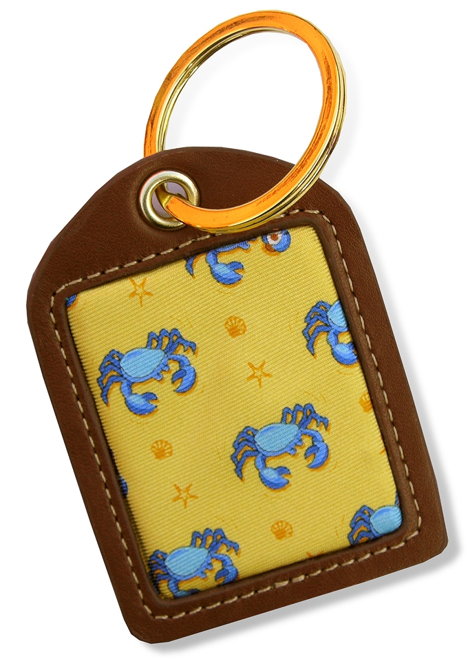 Drunken Crab: Key Chain - Yellow