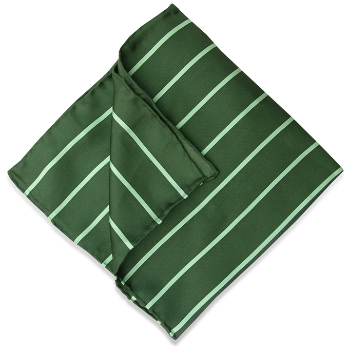 Single Stripe: Pocket - Green