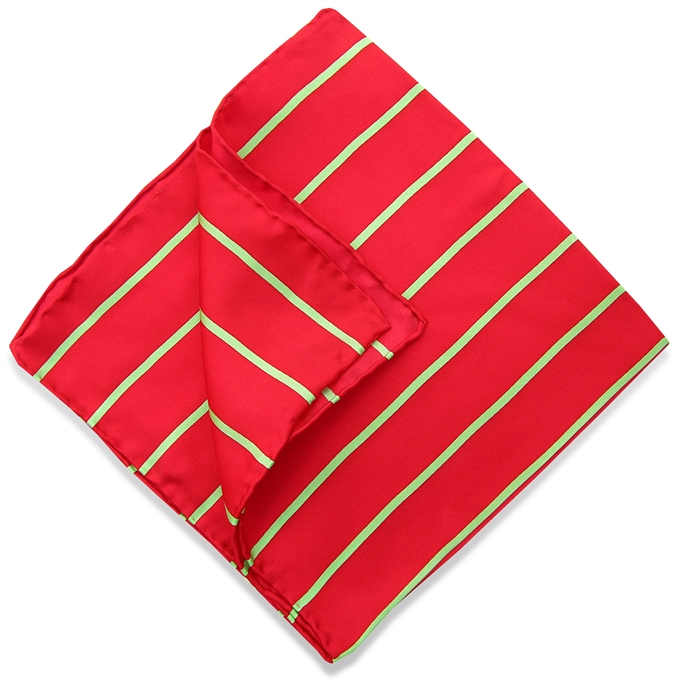 Single Stripe: Pocket - Red