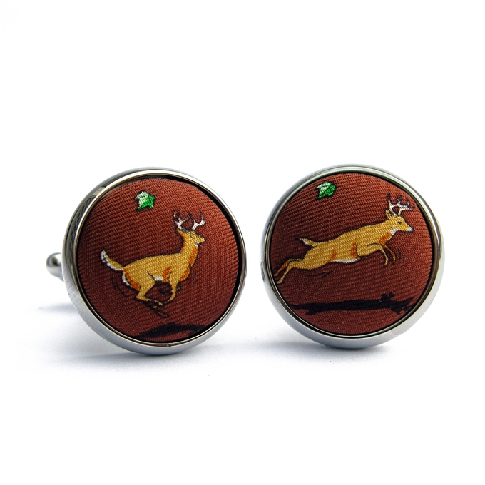 Big Bucks: Cufflinks - Brown