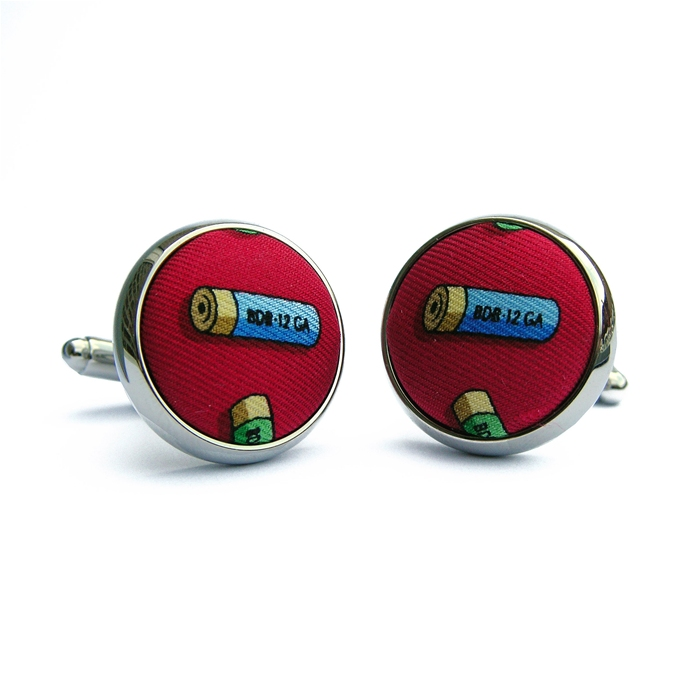 Sittin' Shotgun: Cufflinks - Red