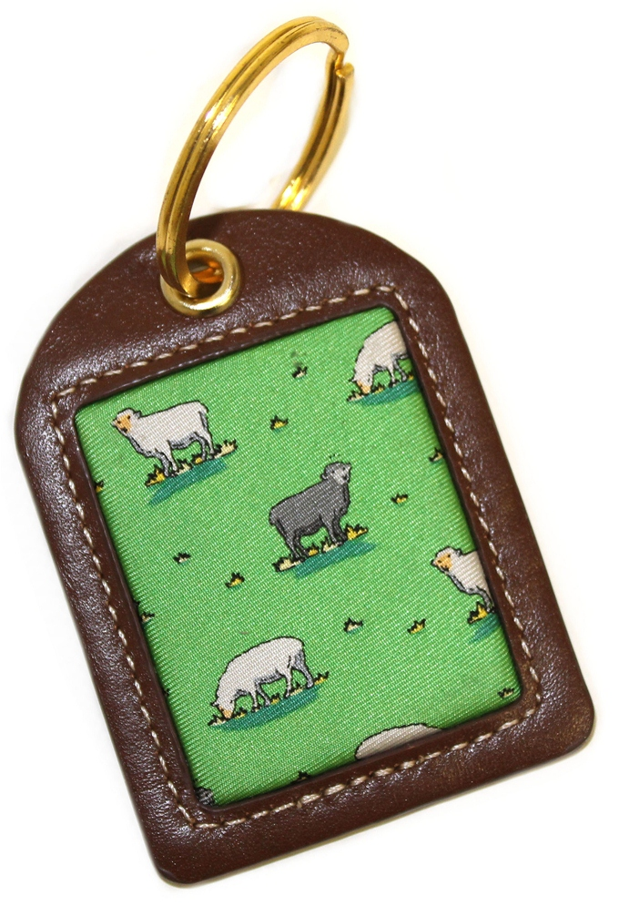 Black Sheep: Key Chain - Green