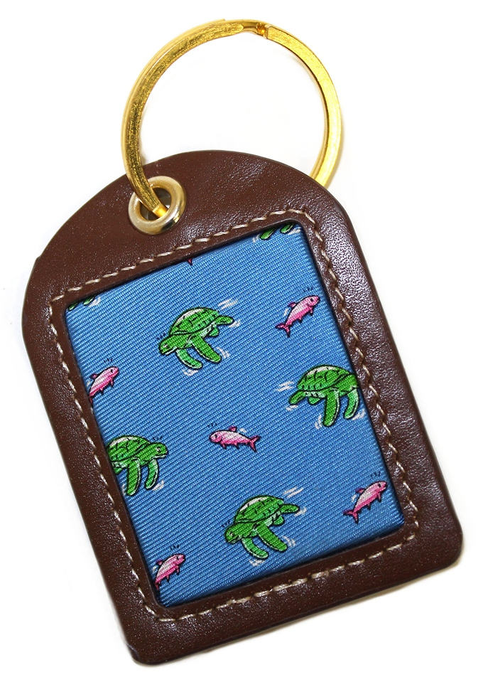 Sea Turtle Surprise: Key Chain - Blue