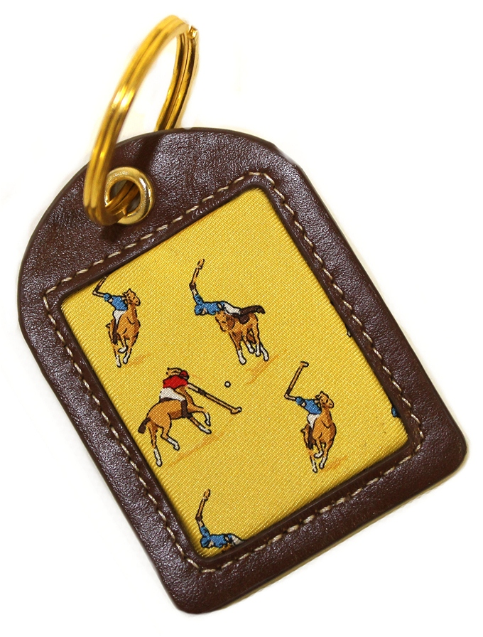Polo Match: Key Chain - Yellow