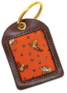 Upland Birds: Key Chain - Orange