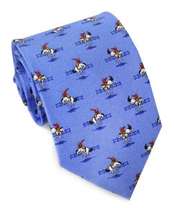 Bucking Bronco: Tie - Blue
