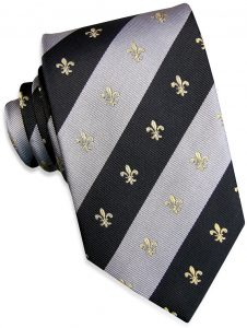 French Connection: Tie - Black/Gray