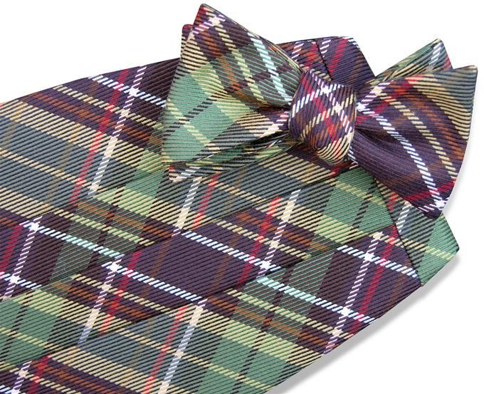 Scotland Yarn: Cummerbund - Brown
