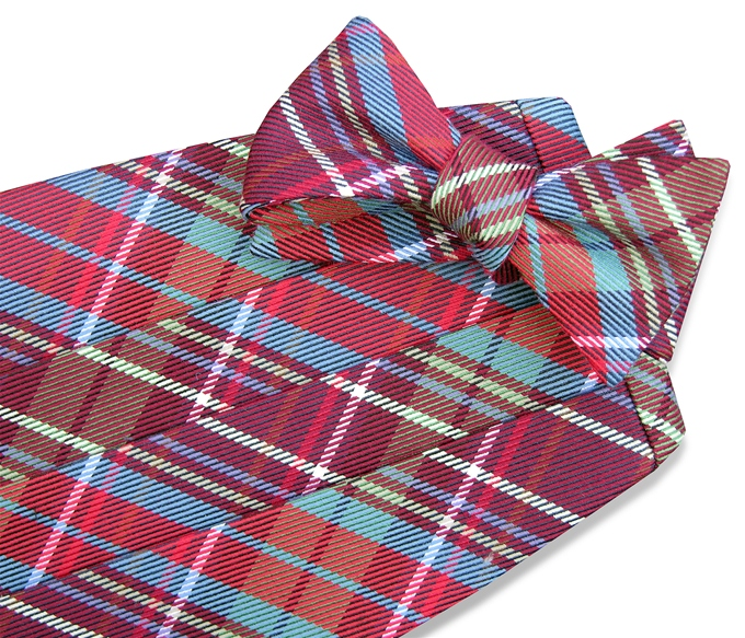 Scotland Yarn: Cummerbund - Red