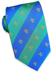 French Connection: Tie - Green/Blue