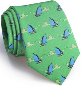 Catboat Race: Tie - Green