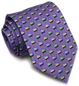 Classic Burgee: Tie - Violet