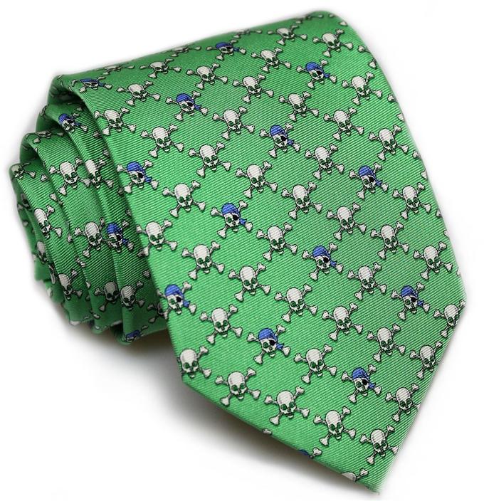 Jolly Roger: Tie - Mint
