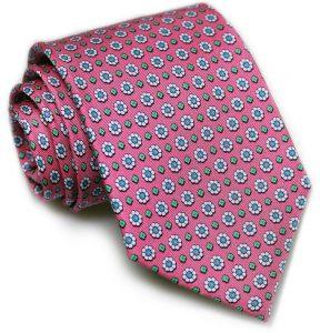 Flower Power: Tie - Pink