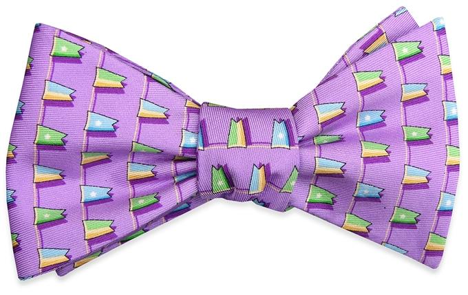 Classic Burgee: Bow - Violet