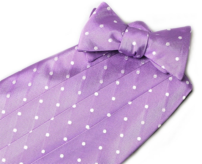Spot On: Cummerbund - Violet