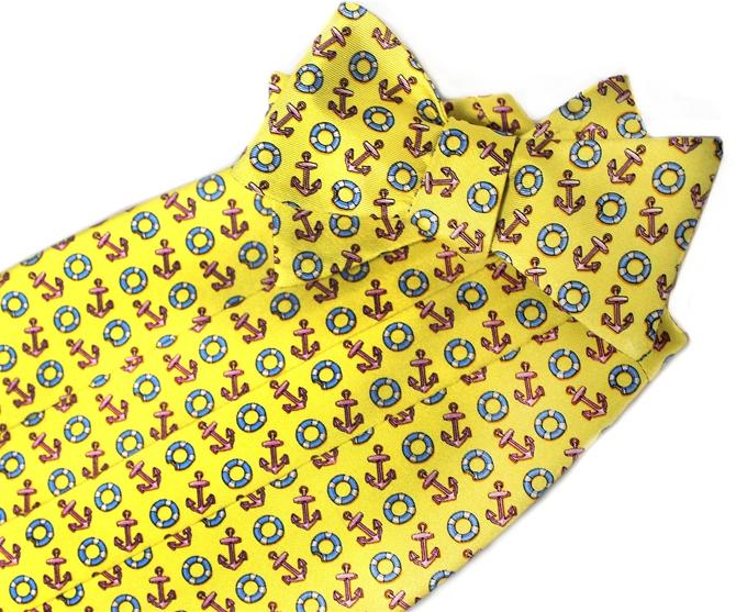 Anchors Aweigh: Cummerbund - Yellow