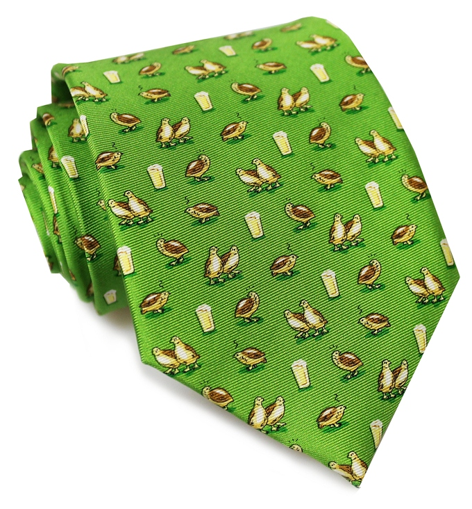 Party Fowl: Tie - Green