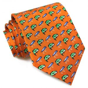 Bass Attack: Tie - Orange